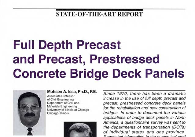 Bridge deck panels