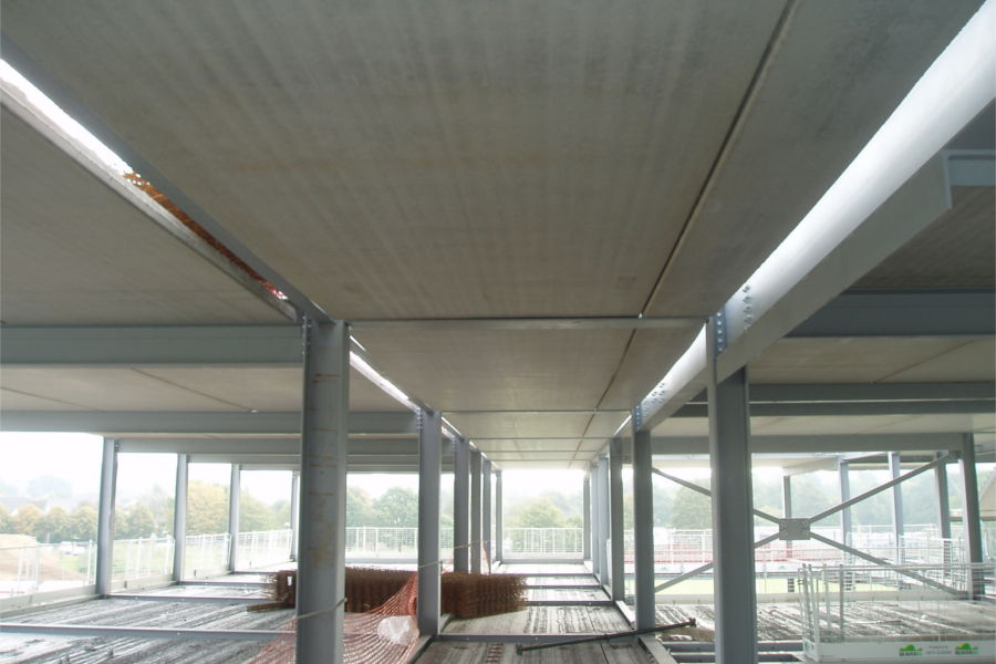 Lattice girder Slabs